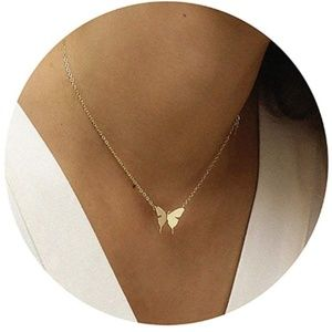 Jewelry - Butterfly Gold Necklace
